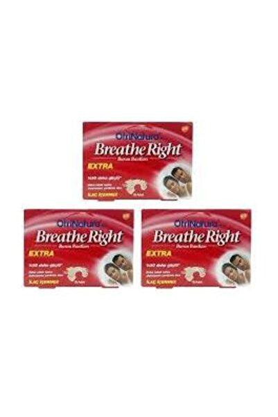 Breathe Right Burun Bandı - Extra 3 Kutu 3x10 Adet