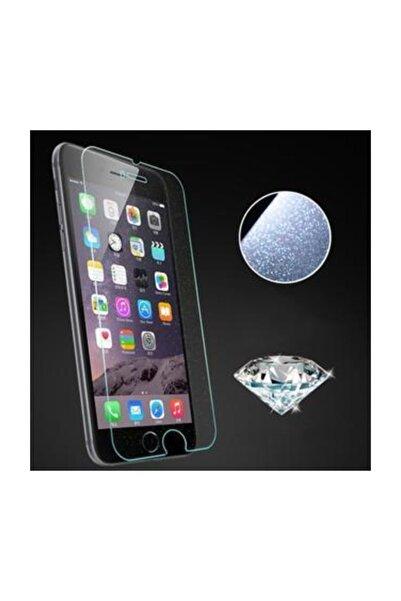 Remax Iphone 6 6s Için Diamond Simli Ekran Koruyucu Tamperli Cam Seffaf Renk Pullu