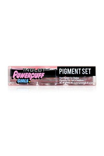 INGLOT X The Powerpuff Girls Pure Pigment Eye Shadow Seti
