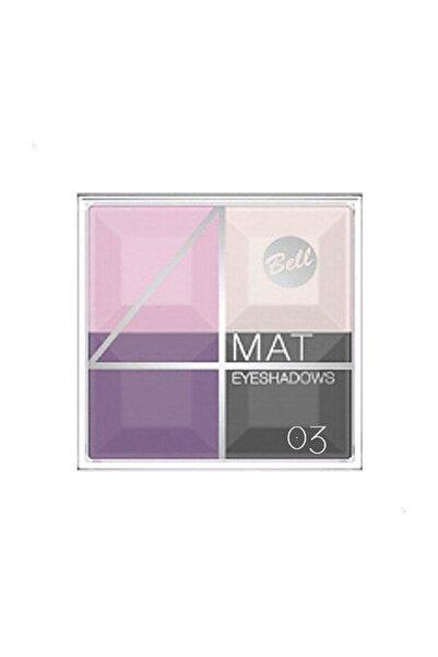 Bell Multicolour Matte Eyeshadows 4'lü Göz Farı 03