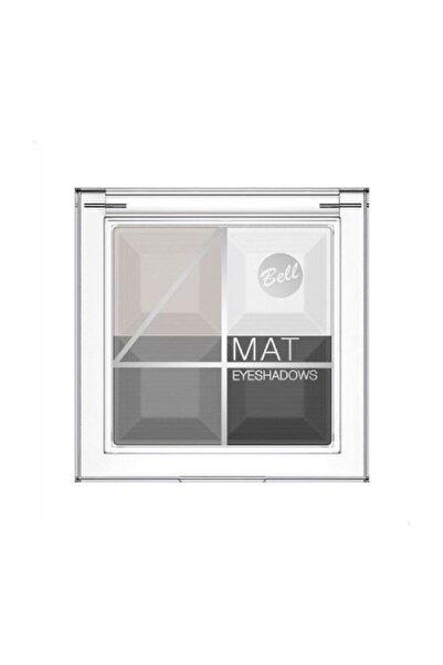 Bell Multicolour Matte Eyeshadows 4'lü Göz Farı 02