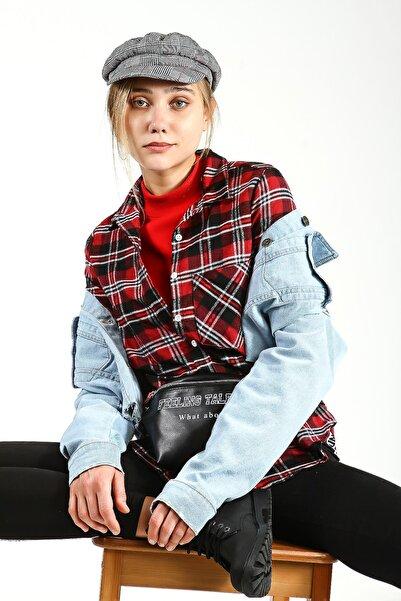 Collezione Mavi Kadın Mavi Spor Regular Ceket