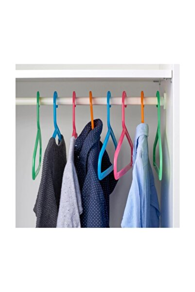 IKEA Bagis 8 Adet Çocuk Giysi Askı Elbise Askısı