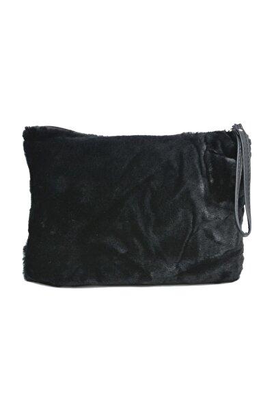 David Jones Kadın Clutch Çanta Siyah