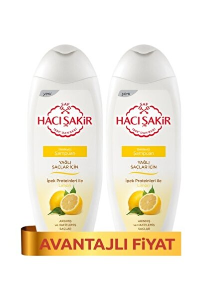 Hacı Şakir Şampuan Limon 500 Ml X 2