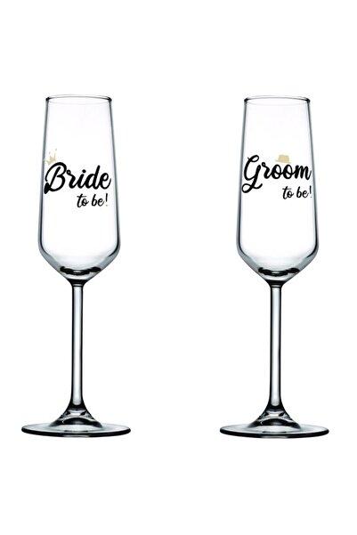 Paşabahçe Bride To Be Groom To Be Şampanya Kadehi 195 Cc 2'li