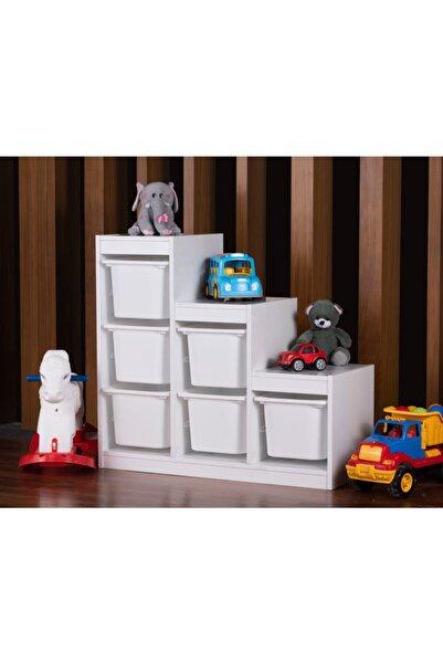 Vip Home Montessori Oyuncak Dolabı Trofast Saklama Düzenleme Ünitesi