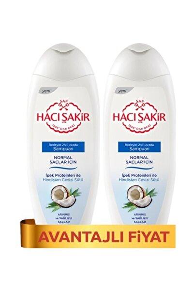Hacı Şakir Şampuan Kremli Hindistan Cevizi - Normal Saçlar 500 Ml X 2