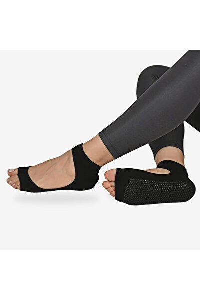 Shocks Kadın Siyah 2'li Yüksek Performans Yoga Ve Pilates Çorabı