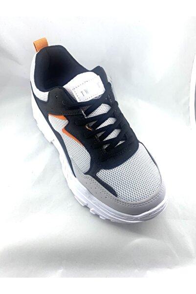 Twingo Kadın Siyah Beyaz Bağcıklı Spor Ayakkabı