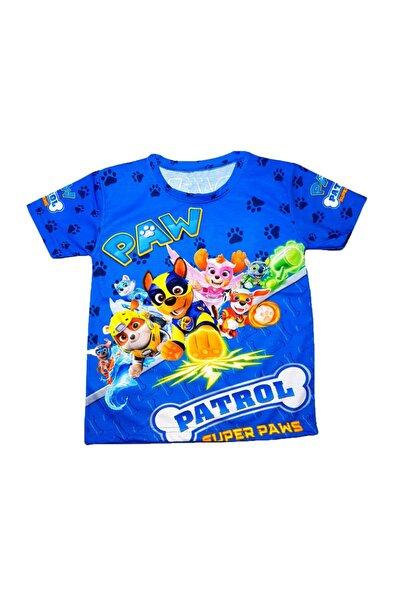 PAW PATROL Erkek Çocuk Baskılı Tişört