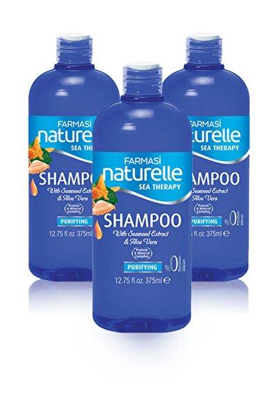 Farmasi Naturelle Deniz Mineralli Arındırıcı Şampuan - 375 ml 3 Adet