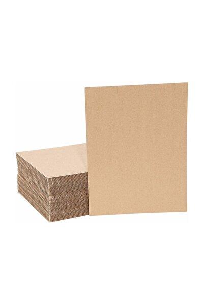 Kraft 50x70 Oluklu Mukavva Karton (24'lü Paket) 3mm - Düz Karton - Proje Kartonu - Tuval Kartonu