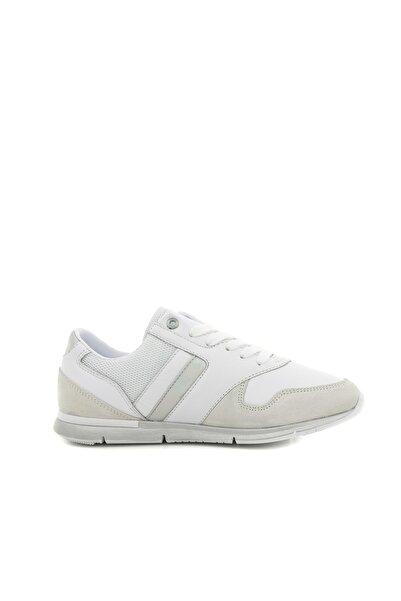 Tommy Hilfiger FW0FW04100-902 Tommy Hilfiger Irıdescent Lıght Sneaker Kadın Spor Ayakkabı Beyaz