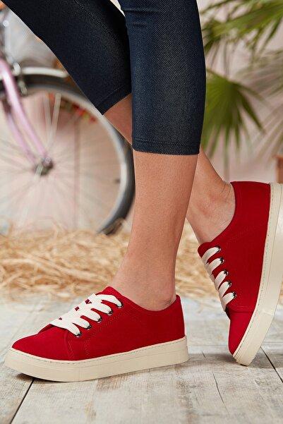 DARK SEER Kırmızı Kadın Sneaker DS.SN0464