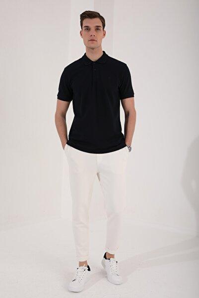 Tommy Life Polo Yaka Lacivert Erkek Tshirt T08ER-87748