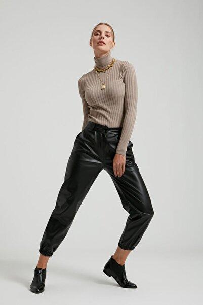 Batik Kadın Siyah Düz Casual Pantolon