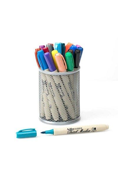 artline Supreme Brush Marker Fırça Uçlu Kalem 20 Renk Kalemlik Hediyeli Set
