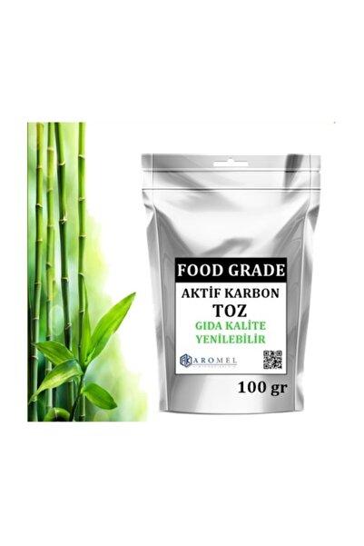 Aromel Aktif Karbon | Gıda Tipi | Yenilebilir | Food Grade 100 gr.