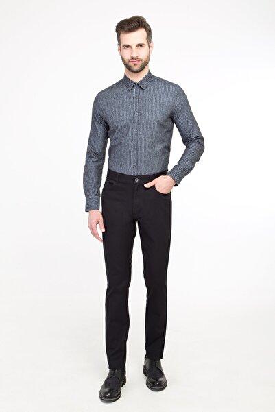 Kiğılı Erkek Siyah Spor Desenli Pantolon