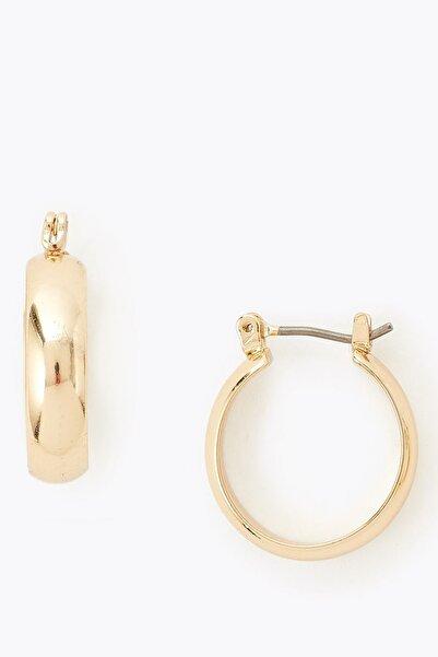 Marks & Spencer Kadın Sarı Mini Halka Küpe T06001005F