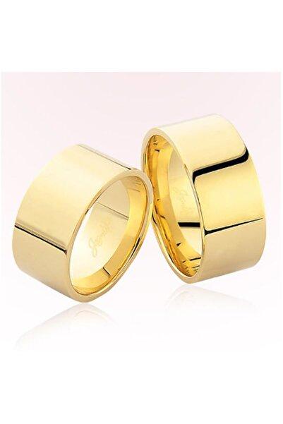 Harem Altın Kadın Sarı Düz Altın Alyans 5804