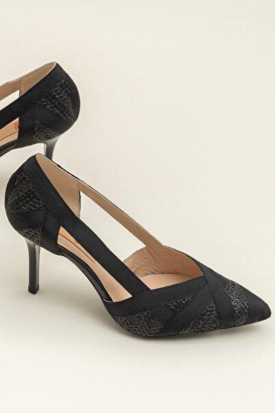 Elle Shoes ELORZA-1 Siyah Kadın Ayakkabı