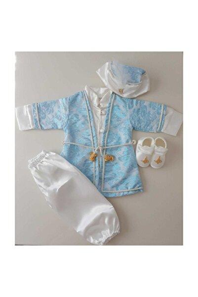 Peite Ponpon Baby Erkek Çocuk Mevlütlük Şehzade Mevlüt Kıyafeti Erkek Çocuk Hediye