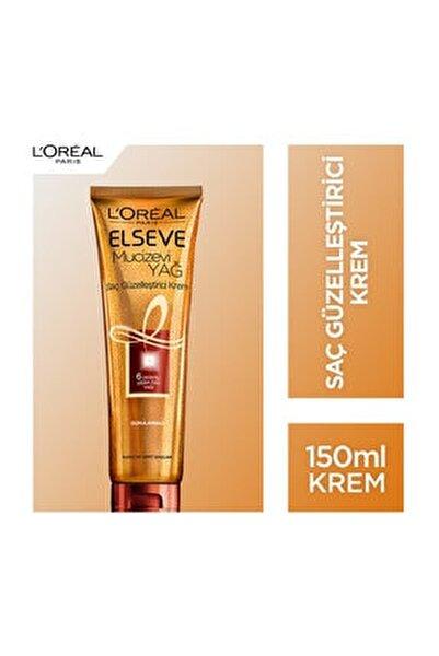 Elseve Mucizevi Yağ Saç Güzelleştirici Krem 150 Ml (Kuru Ve Sert Saçlar İçin)