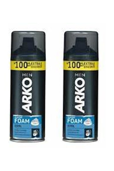 ARKO Men Tıraş Köpüğü Cool 300 ml 2 Adet
