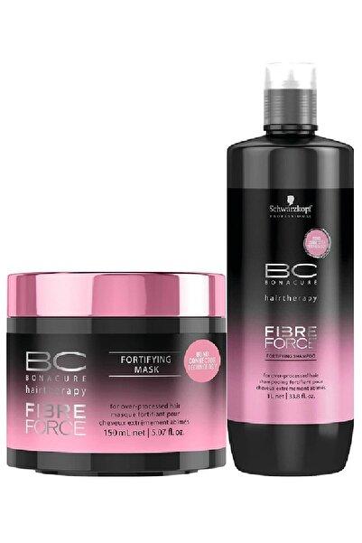 Bonacure Fibre Force Şampuan 1000 ml + Maske 150 ml 40457874298175