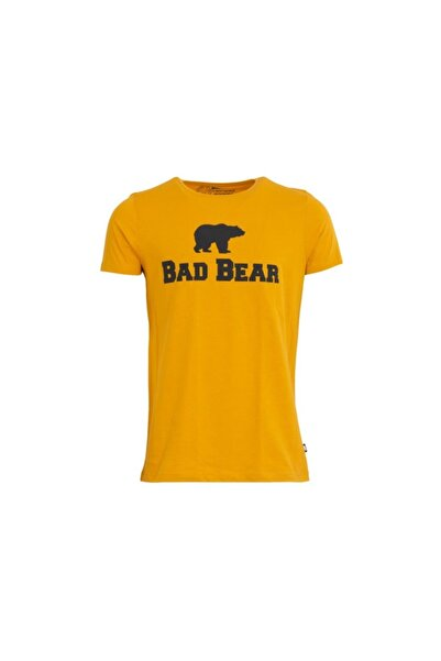 Bad Bear 19.01.07.002 Erkek T-shırt  Hardal