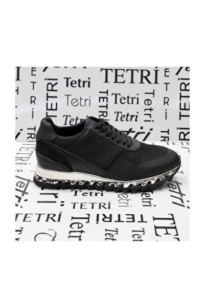 TETRİ Siyah Deri Ayakkabı