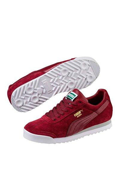 Puma Roma Gents Nbk Jr Kırmızı Kadın Deri Sneaker Ayakkabı 100352534