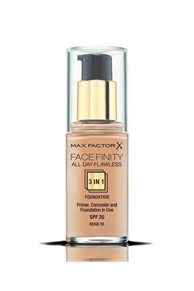 Max Factor Fondöten - FaceFinity All Day Flawless Foundation 055 Beige 30 ml 5410076971558