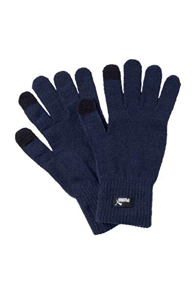 Puma Erkek Eldiven - Eldiven Knit Gloves Peacoat - N.1 Logo - 04131605