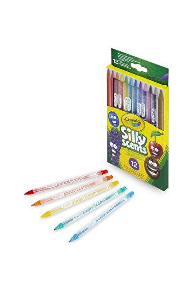 Crayola Silly Scents Çevrilebilen Kuru Boya Kalemi 12'Li /