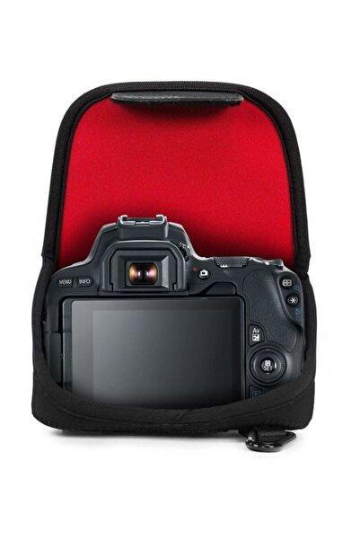 MegaGear Neopren Kamera Kılıfi Canon Eos 200d, 250d, 800d,eos Rebel Sl3, Eos Kiss X10 Için Uyumludur