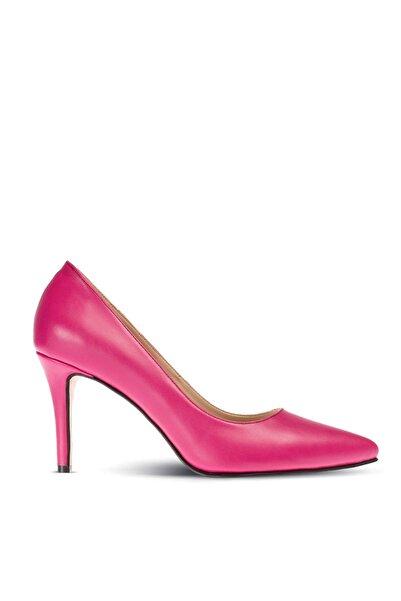 Deery Pembe Kadın  Klasik Topuklu Ayakkabı 02029ZFSYM01