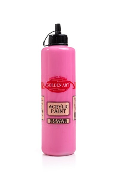 Bigpoint Golden Art Akrilik Boya 500ml - 016 Pembe
