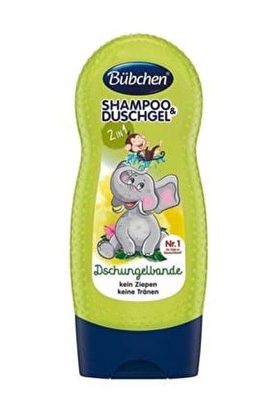 Şampuan Ve Duş Jeli Jungle Fever (Tropik Orman) 230 ml