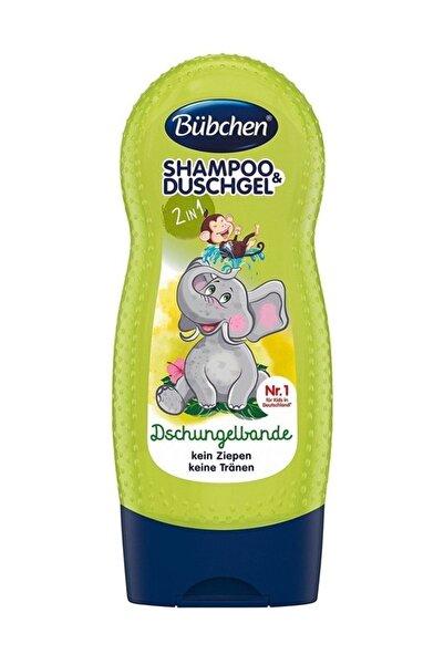 Bübchen Şampuan Ve Duş Jeli Jungle Fever (Tropik Orman) 230 ml