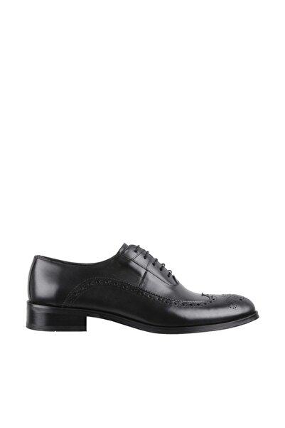 Elegante Erkek Italy Klasik Ayakkabı  148-SİYAH-ANTİK