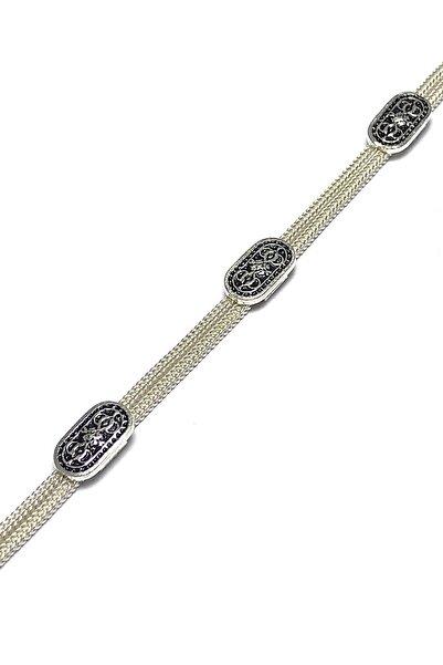 Midyat Gümüş Dünyası Kadın Mardin Hasırı Gümüş Bileklik 2020487