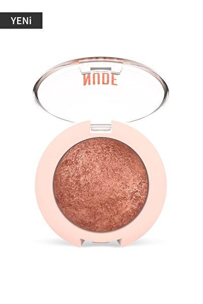 Golden Rose Işıltılı Terracotta Göz Farı - Nude Look Pearl Baked Eyeshadow No:02 Rosy Bron 8691190967260