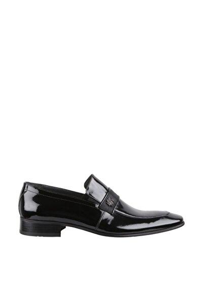 Elegante Erkek Italy Klasik Ayakkabı 1332-SİYAH-RUGAN