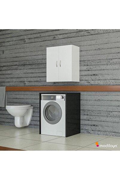 Modilayn Rüzgar Makina Üstü Banyo Mutfak Dolabı