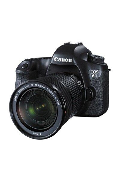Canon EOS 6D Mark II 24-105 IS STM Lensli Fotoğraf Makinesi
