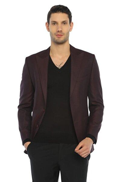 COMİENZO Erkek  Bordo Ceket-21024