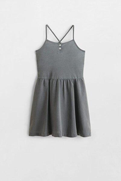 MANGO Kids Kız Çocuk İnce Askılı Elbise 53030692